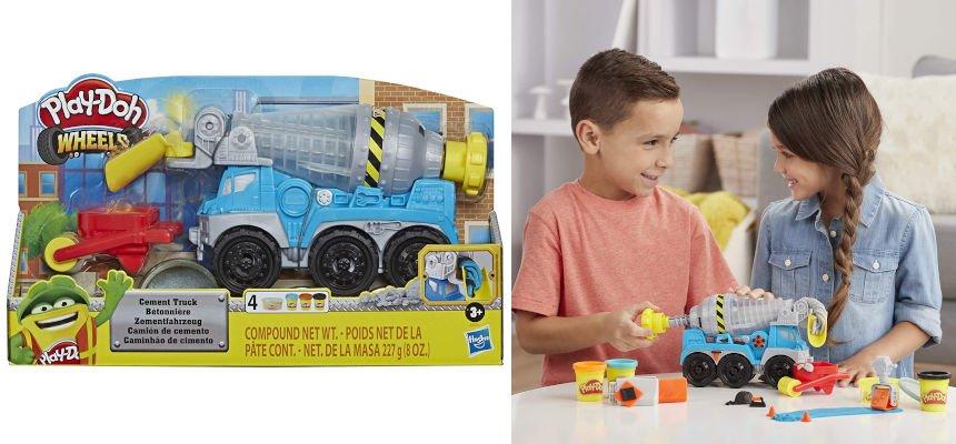 Camión de cemento de Play-Doh barato, ofertas en juguetes