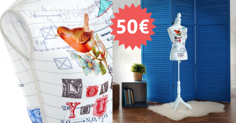 ¡TOMA CHOLLO! Maniquí de costura HOMCOM solo 50,39 euros. ¡Solo hoy!