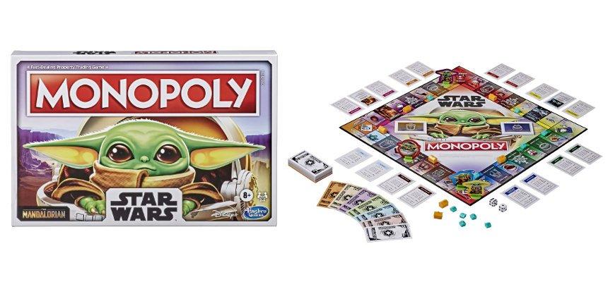 Monopoly The Child Star Wars barato, ofertas en juegos de mesa