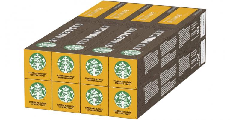 ¡TOMA CHOLLO! 80 cápsulas de café Starbucks Blonde Espresso Roast solo 22,72 euros. Compatibles Nespresso.