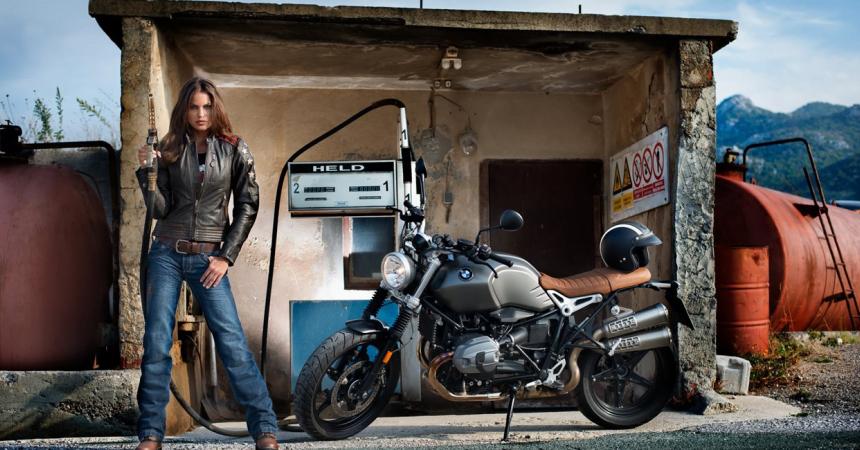 Pantalones Held Crane Denim baratos, ofertas en pantalones de moto