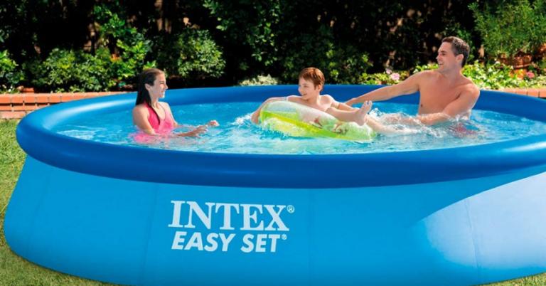 ¡TOMA CHOLLO! Piscina desmontable Intex Easy Set de 7.290 litros solo 57,26 euros.