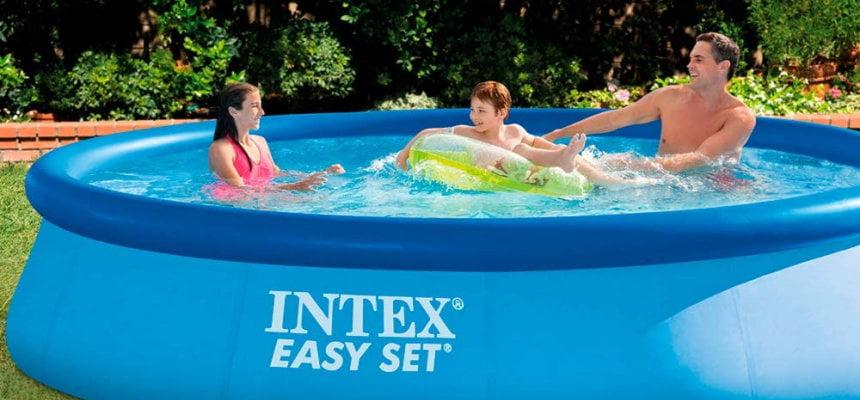 Piscina desmontable Intex Easy Set barata, ofertas en piscinas desmontables