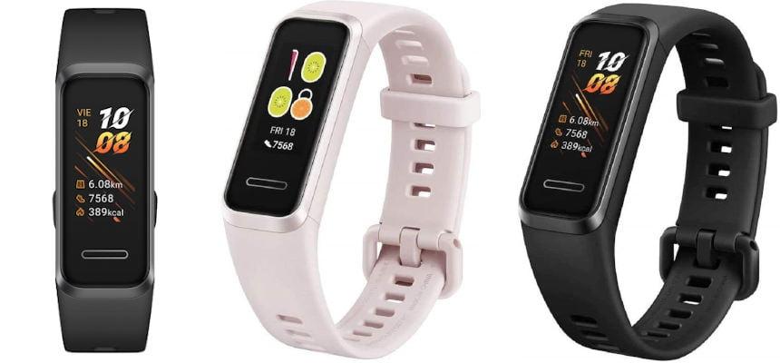 Pulsera de actividad Huawei Band 4 barata, ofertas en smartbands