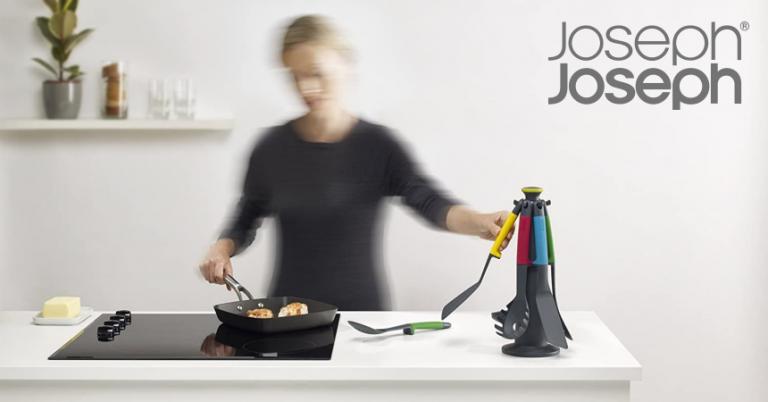 ¡TOMA CHOLLO! Set de utensilios de cocina Joseph Joseph Elevate solo 35,70 euros. Ahorras 39,29 euros.