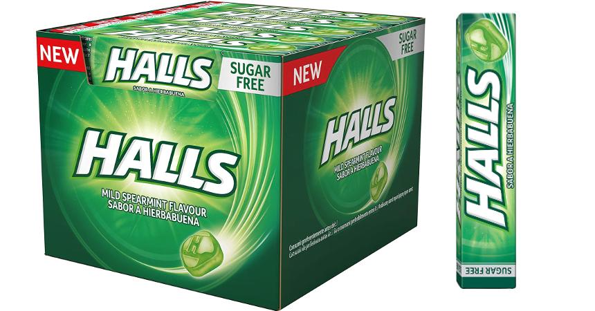 20 paquetes de caramelos Halls Menta Suave baratos, ofertas en supermercado