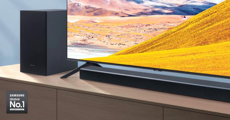 ¡TOMA CHOLLO! Barra de sonido Samsung HW-T550 solo 149 euros. Ahorras 100 euros.