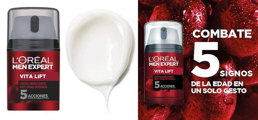 Crema hidratante L'Oréal Paris Men Expert Integral Vita Lift barata, ofertas en cuidado personal