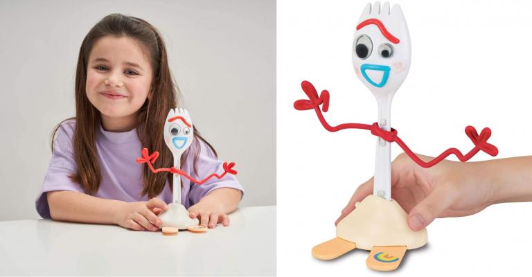 Â¡TOMA CHOLLO! Figura Forky Toy Story 4 con voz solo 15 euros. 57% de descuento.