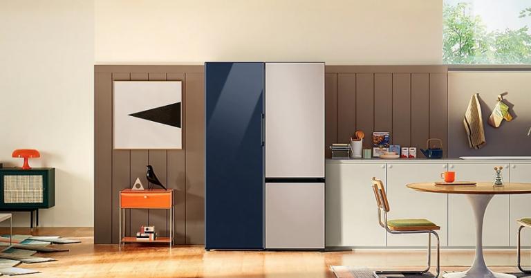 ¡TOMA CHOLLO! Televisor de regalo por la compra de un frigorífico Samsung BESPOKE 2021.