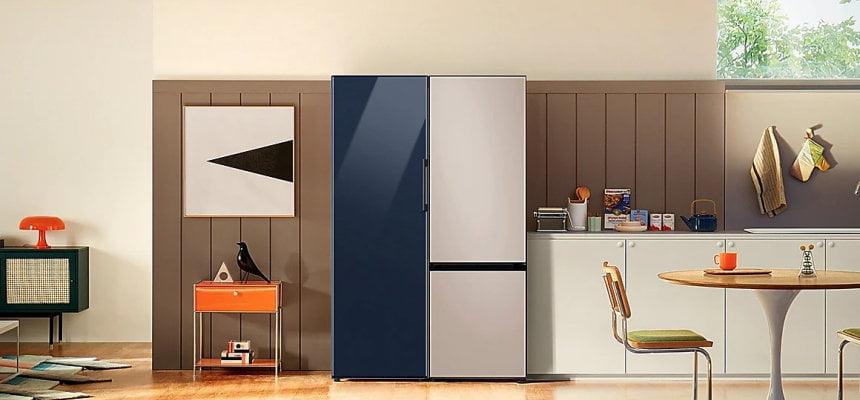 Frigoríficos Samsung BESPOKE 2021 baratos, ofertas en frigoríficos