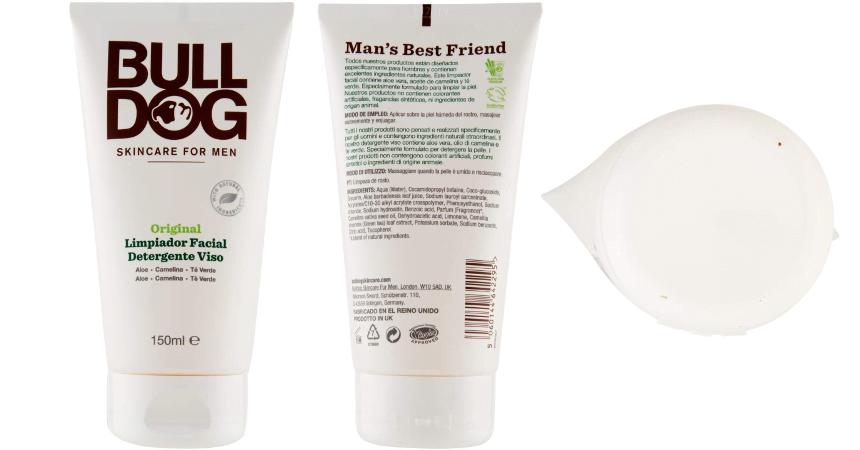 Gel limpiador facial Bulldog para hombre barato, ofertas en cuidado personal