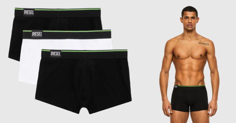 ¡TOMA CHOLLO! Pack de 3 boxers Diesel solo 19 euros. 52% de descuento.