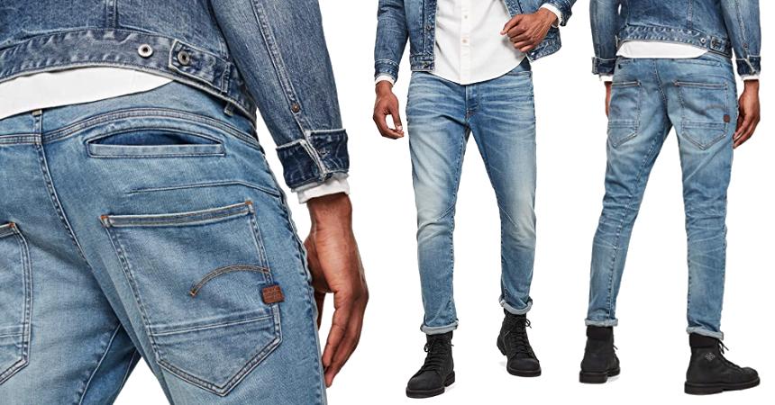 Pantalones vaqueros G-Star Raw D-STAQ baratos, ofertas en ropa de marca