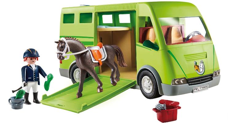 ¡TOMA CHOLLO! Playmobil Country Transporte de Caballo solo 17,99 euros. 55% de descuento.