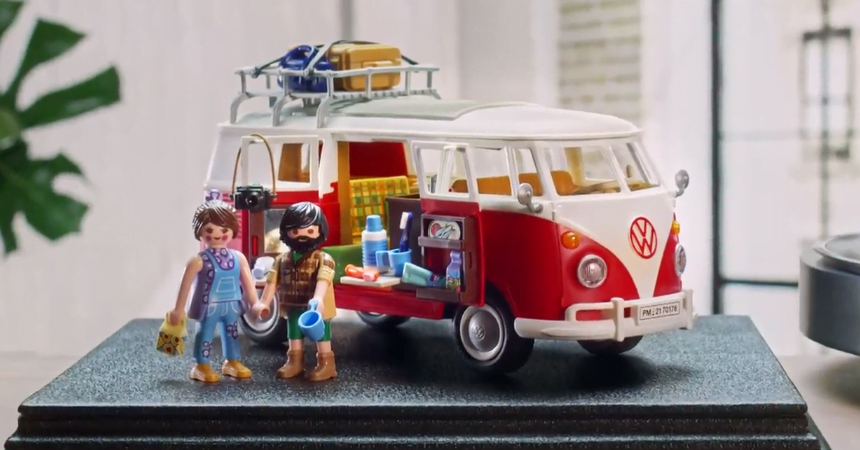 Playmobil Volkswagen T1 Camping Bus barato, ofertas en juguetes