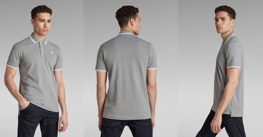 Polo G-STAR RAW Dunda Stripe Slim barato, ofertas en ropa de marca