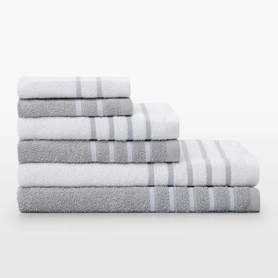 Toallas de baño Volga Basics gris, chollo