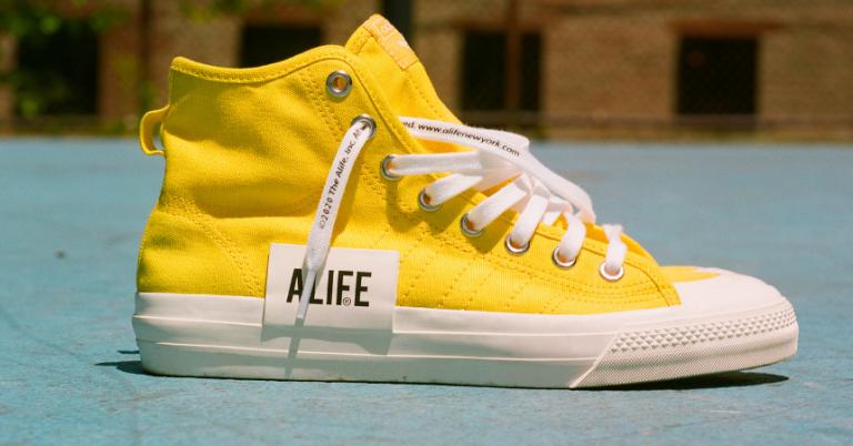 ¡TOMA CHOLLO! Zapatillas unisex Adidas Nizza Hi x Alife solo 33,50 euros. 66% de descuento.