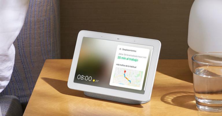¡TOMA CHOLLO! Altavoz con pantalla inteligente Google Nest Hub Carbon solo 41,93 euros. Ahorras 43,06 euros.