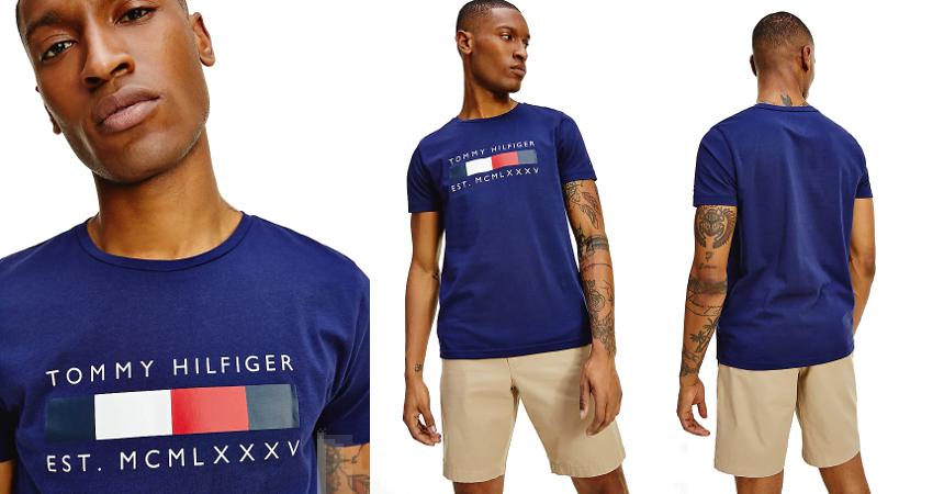 Camiseta Tommy Hilfiger Box barata, ofertas en ropa