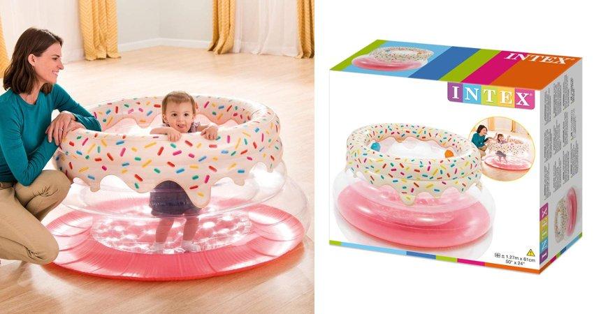 Centro de juegos hinchable Intex barato, ofertas para niños chollo