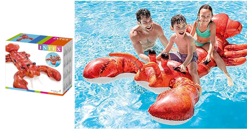 Colchoneta hinchable Intex Langosta barata, ofertas en juguetes