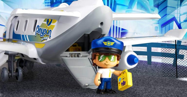 ¡TOMA CHOLLO! Juguete Pinypon Action Emergencia en el avión solo 20 euros. 50% de descuento.