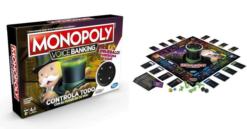 Monopoly Voice Banking barato, ofertas en juegos de mesa