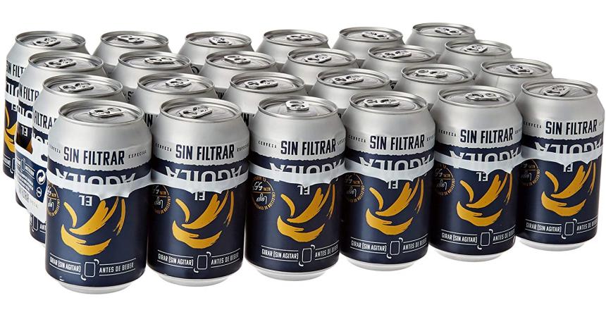 Pack 24 latas cerveza El Águila Sin Filtrar barato, ofertas en cerveza, cerveza barata