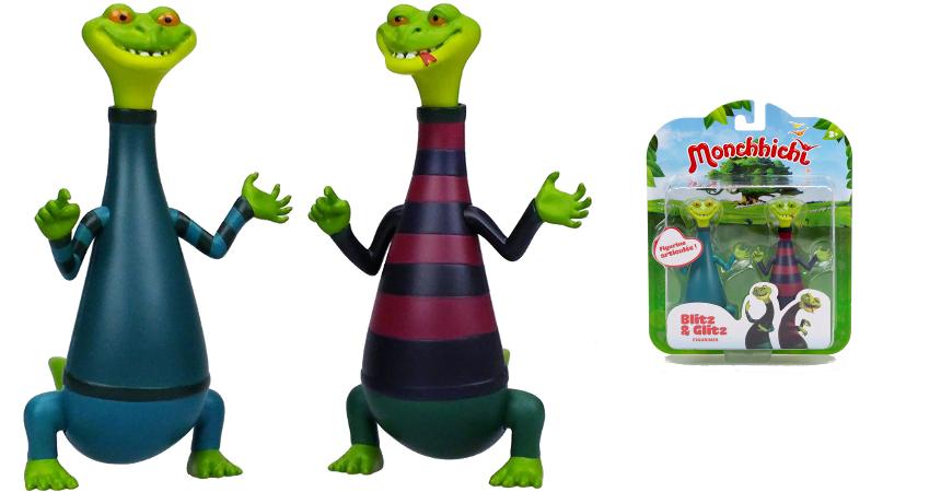 Pack de 2 figuras Monchhichi Blitz and Glitz barato, ofertas en juguetes