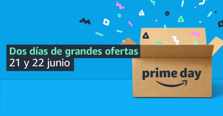 Confirmadas las fechas del Prime Day 2021 de Amazon: 21 y 22 de junio.