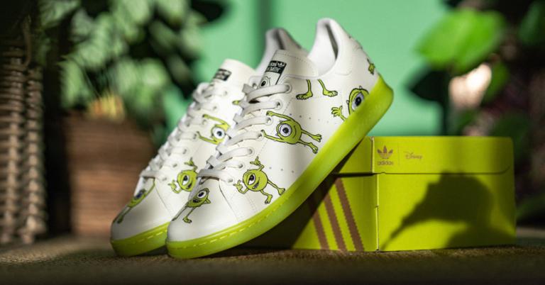 Â¡TOMA CHOLLO! Zapatillas Adidas Stan Smith Mike Wazowski solo 60 euros. 50% de descuento.