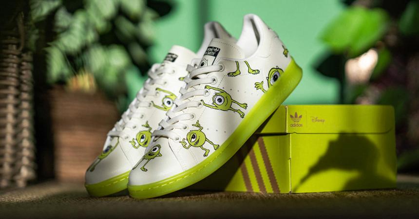 Zapatillas Adidas Stan Smith Mike Wazowski baratas, ofertas en calzado