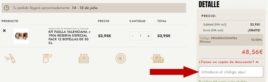 Kit paella valenciana y cerveza Estrella Galicia 1906 Reserva Especial