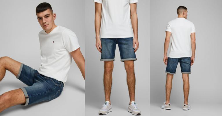 ¡TOMA CHOLLO! Pantalón corto Jack & Jones Rick solo 14,99 euros. 50% de descuento.