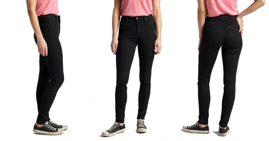 Pantalones vaqueros Lee Scarlett High Skinny baratos, ropa de marca barata, ofertas en pantalones