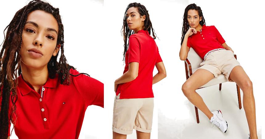 Polo Tommy Hilfiger Essentials barato, ofertas en ropa de marca
