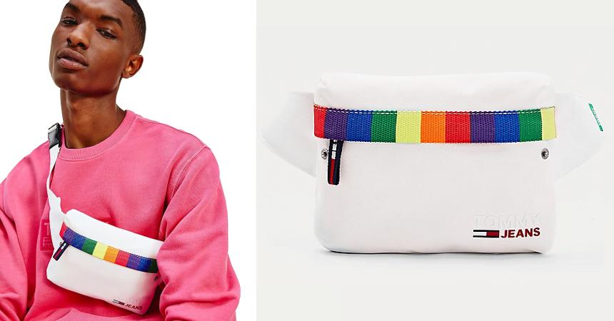 Riñonera Tommy Jeans Campus Pride barata, ofertas en complementos