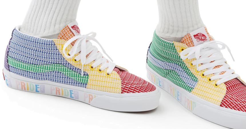 Zapatillas Vans Pride SK8-MID baratas, ofertas en calzado
