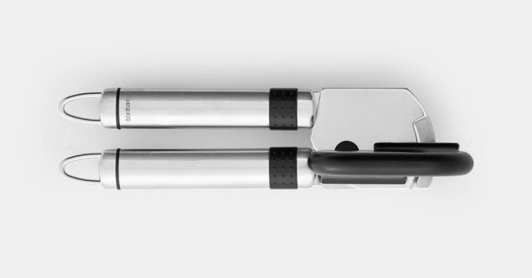 ¡TOMA CHOLLO! Abrelatas de acero inoxidable Brabantia Profile solo 2,40 euros. 85% de descuento.