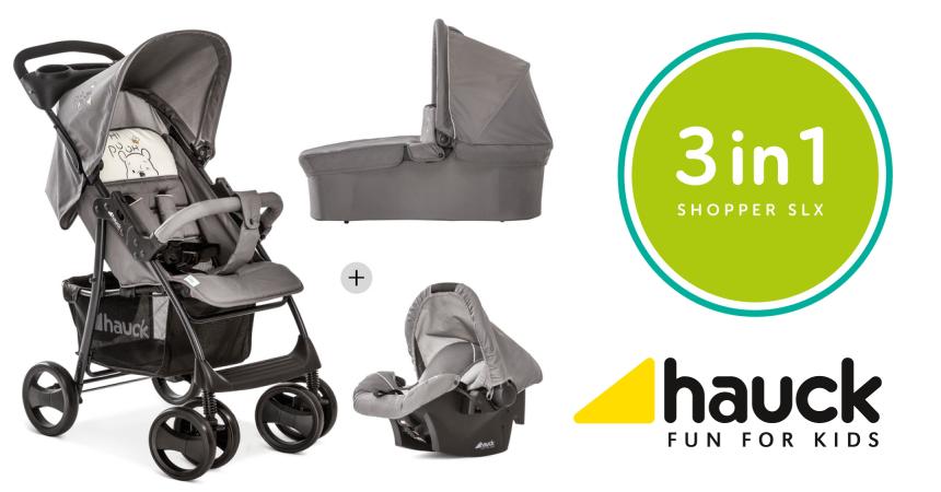 Silla de paseo Hauck Trío Shopper SLX barata, ofertas en sillas de paseo