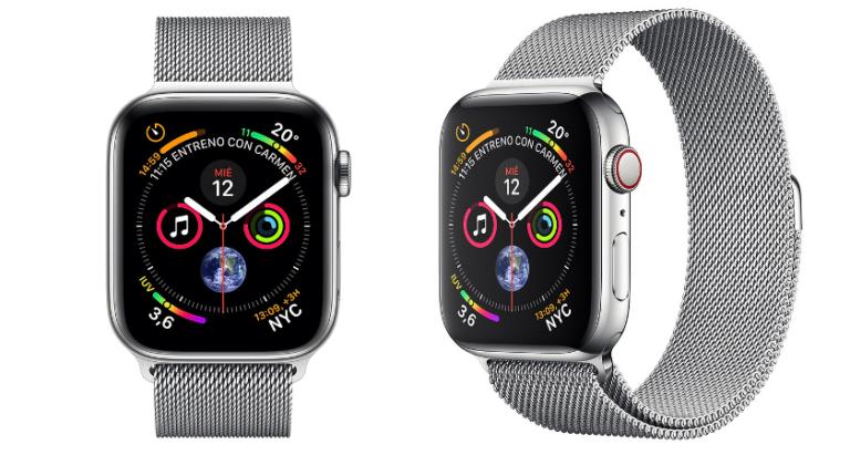 ¡TOMA CHOLLO! Apple Watch 4 GPS + Cellular 44 mm solo 371,97 euros. Mínimo histórico. Te ahorras 248 euros.