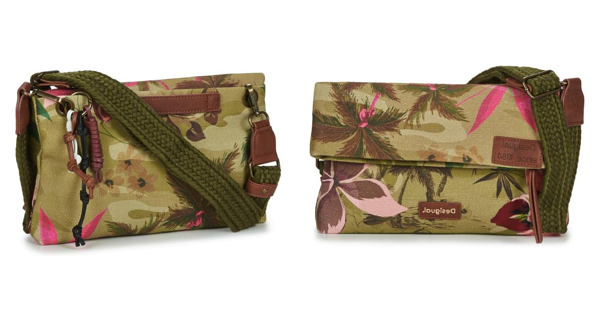 Bolso Desigual Fabric Body barato, ofertas en bolsos de marca