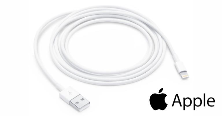 ¡TOMA CHOLLO! Cable oficial Lightning para iPhone e iPad solo 12,95 euros. Ahorras 22,05 euros.