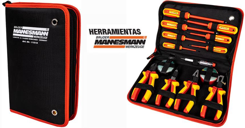 Juego de herramientas Mannesmann M11214 barato, ofertas en herramientas, chollos en herramientas