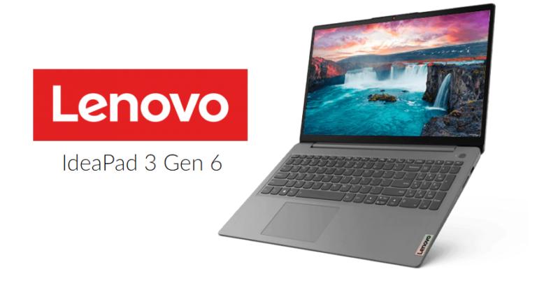 ¡TOMA CUPÓN! Ordenador portátil Lenovo IdeaPad 3 Ryzen 5 | 16GB RAM | 512GB SSD solo 549 euros.