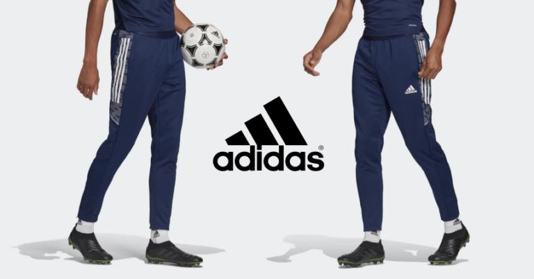 ¡TOMA CHOLLO! Pantalones de entrenamiento Adidas Condivo 21 solo 23,38 euros. 57% de descuento.