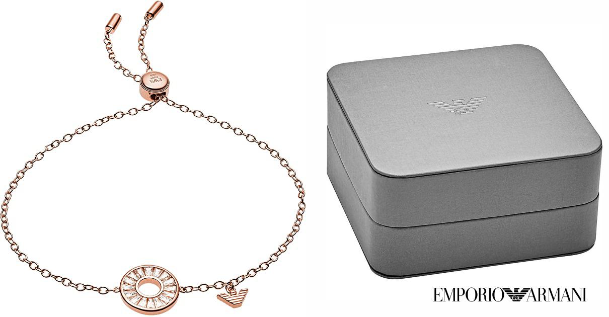 Pulsera Emporio Armani para mujer barata, ofertas en pulseras, joyas baratas