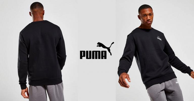 ¡TOMA CHOLLO! Sudadera Puma Core Small Logo solo 15 euros. 73% de descuento.